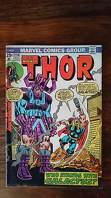Marvel comics The Mighty Thor #226 1974 FN 1st print