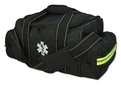BLACK Lightning X Large First Responder Bag w/ Dividers Medical Trauma First Aid