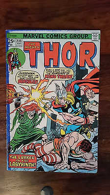 Marvel comics The Mighty Thor #235 1975 'Low Grade 1st print