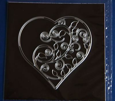 Craft-House 'Vine & Flower Heart' Cutting Die CHD9