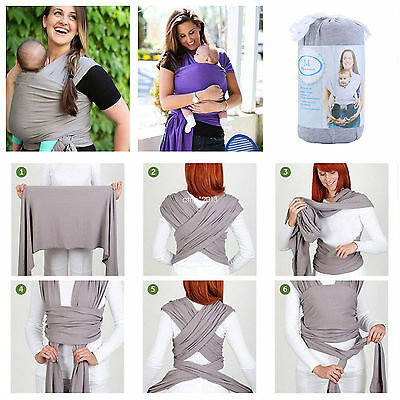 Baby Infant Toddler Adjustable Wrap Strap Belt Sling Newborn Backpack Carrier