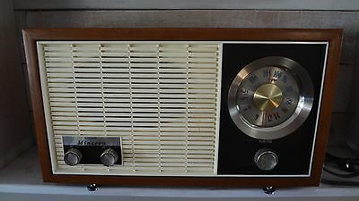 Vintage Antique 1960's Eaton's Minerva AM FM Radio! #FAW-11 T.Eaton Co Ltd.