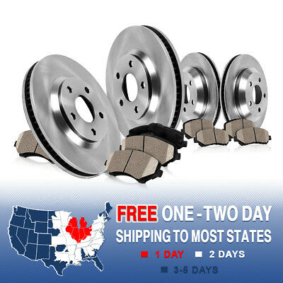 Front and Rear OE Brake Rotors & Ceramic Pads 2013 LEXUS IS350 IS350C US MODELS