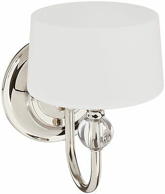 Progress Lighting P7049-104WB Fortune Collection 1-Light Wall Bracket, Polished