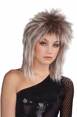 Brand New 1980s Tina Turner British Woman Adult Wig (Mixed Blonde)