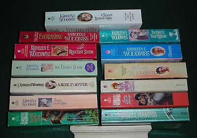 Kathleen Woodiwiss - Lot of 13 - Complete set of her novels