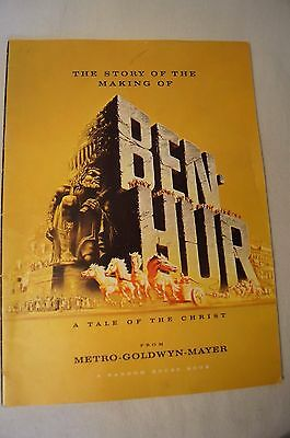 Collectable - Rare - Vintage Movie Programme - Ben Hur.