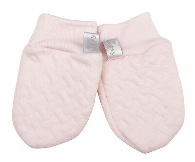 Kissy Kissy Heavenly Dreams Pink Jacquard Mittens