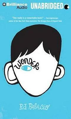 NEW Wonder By R J Palacio CD in MP3 Format Free Shipping