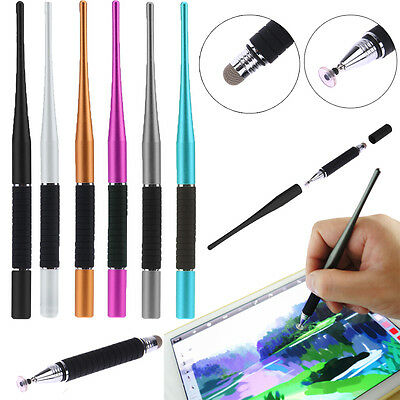 2 In 1 Capacitive Pen Touch Screen Stylus Writing Drawing Pen for iPhone iPad PC