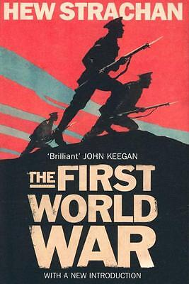 NEW The First World War By Hew Strachan Paperback Free Shipping