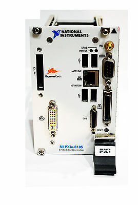 National Instruments NI PXIe-8105 2.0 GHz Dual-Core PXI Exp. Embedded Controller