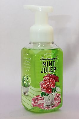 1 Savannah Mint Julep Bath & Body Works Gentle Foaming Hand Soap Wash 8.75 Oz