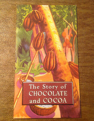 Vintage The Story of Chocolate and Cocoa 1956 Hershey Chocolate Co.
