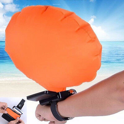 Emergency Swimming Self Rescue Ring Sport Wrist Bracelet Inflatable Float AirBag