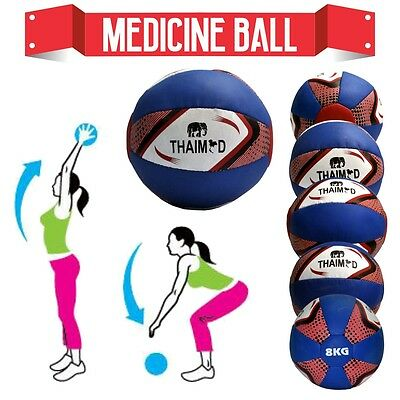 10KG Medicine Ball No Bounce Heavy Duty Body Workout Fitness Gym Exercise Boxing