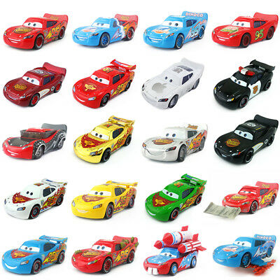 Mattel Disney Pixar Cars No.95 Lightning McQueen Toy Car 1:55 New In Stock