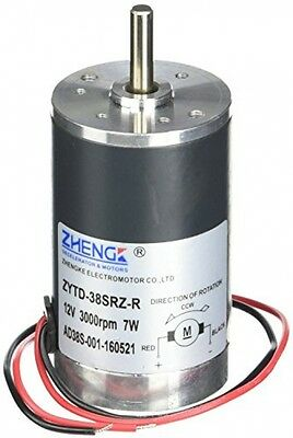 300G.cm DC 12V 0.58A Brushed Electric Motor 3000RPM