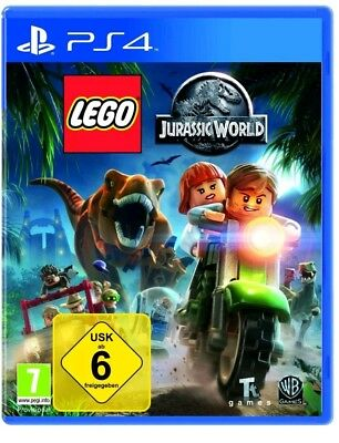 LEGO Jurassic World PS4 (Sony PlayStation 4) Versiegelt NEU OVP