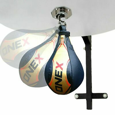 Hand Target Speed Ball Boxing Pear Shape Punching Bag & Swivel Martial Arts MMA