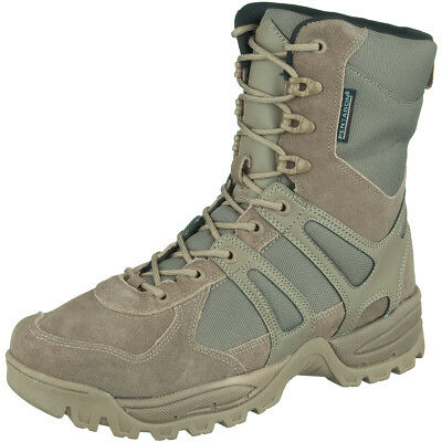 Pentagon Scorpion Desert Boots Tactical Hunting Hiking Mens Suede Footwear Olive