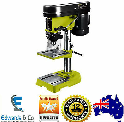 Bench Drill Press Bench Mounted 5 Speed Electric Operation Table Stand Base