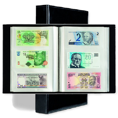 Banknotes Collection Album 100 Integrated Pages 3 Pocket fr 300 Modern Size Note