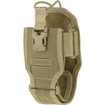 Maxpedition Agr Taktische Radio Pouch Hex Ripstop Bungee Gps Holster Halfter Tan