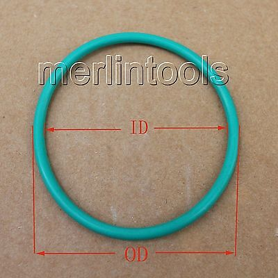 8.6mm Section Select OD from 205mm to 460mm Fluororubber O-Ring gaskets