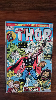Marvel comics The Mighty Thor #239 1975 VG 1st print