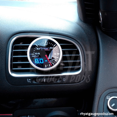 VW Golf MK6 (UK) 52mm - Soporte Manometro Aireador / Gauge Holder Air Vent Pod