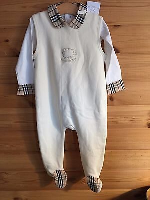 Baby Boys or Girls Burberry Outfit 12 - 18 Months Designer Babies BRAND NEW