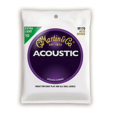 Martin M170 80/20 Bronze Extra Light