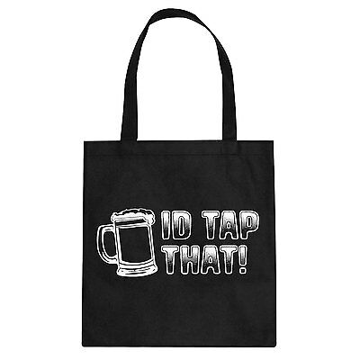 Tote Id Tap That Cotton Canvas Tote Bag #3218