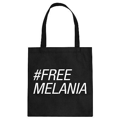 Tote Free Melania Cotton Canvas Tote Bag #3174