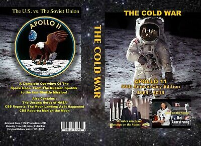 2 DVD SET: The Cold War: APOLLO 11 50th Anniversary Edition 1969 - 2019