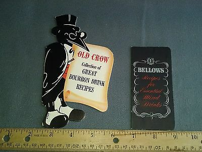 Old Crow Collection of great bourbon drink recipes. Bellows mixed drink recipes