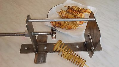 Spiral Tornado Ribbon Potato Cutter, 100% USA made, New, Industrial grade,