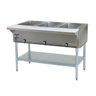 3 Well Hot Food Table Propane