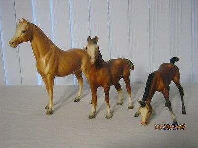 3 Breyer Horses all marked