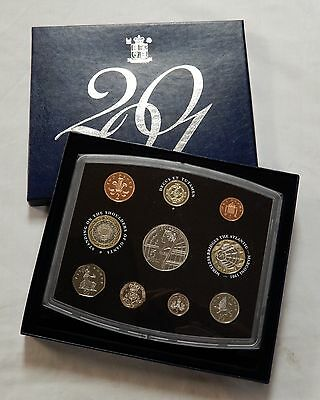 2001 Royal Mint United Kingdom Victorian Standard Proof 10 Coin Set Box & Coa