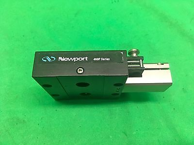 "Newport M-460P Series X Axis Slide Stage 3/4"" Travel"