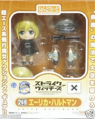 NEW Nendoroid Erica Hartmann Good Smile Company Strike Witches PVC Figure F//S