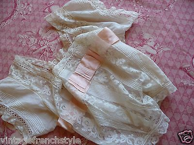Antique French Camisole French Lingerie Antique French Lace Hand Embroidered