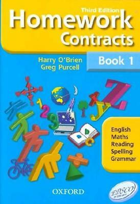 NEW Homework Contracts Book 1 By Harry O'Brien Paperback Free Shipping