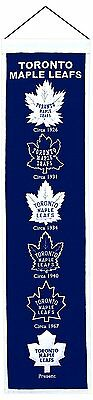 NHL TORONTO MAPLE LEAFS Banner großer Wimpel Pennant Eishockey heritage Wolle
