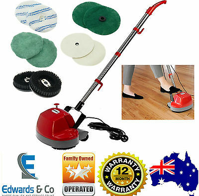Electric Floor Polisher Scrubber Polisher Buffer Machine Timber Tile Waxer New