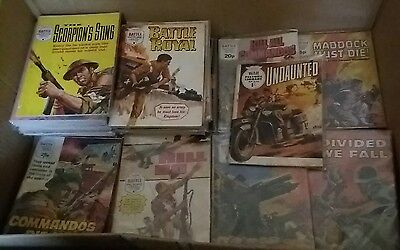 37 copies of Battle Picture Library Comic. Earlier years  1960s /1970s