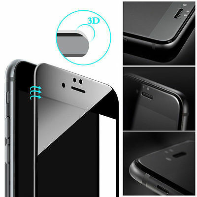 Premium 3D Curved Full Coverage Tempered Glass Screen Protector for iPhone 6 6s