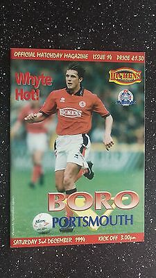 Middlesbrough V Portsmouth 1994-95